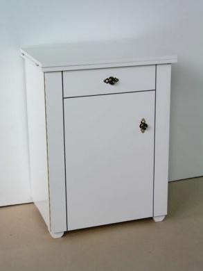 Consola laminado medio en color blanco (Ref. 1045)